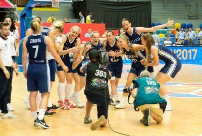 Reprezentácia Slovenska basketbal ženy